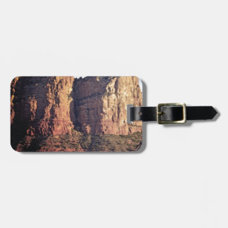nice rock monument luggage tag