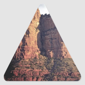 nice rock monument triangle sticker