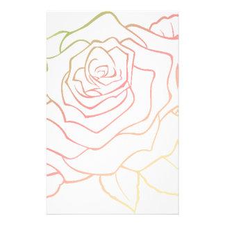 Nice Rose Flower in Pink Ombre Rose Flower giftt Papeleria