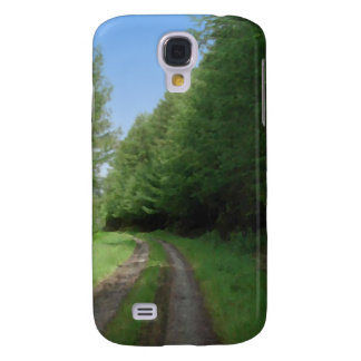 Nice scenic view of a pathway and trees. galaxy s4 cases