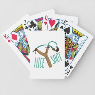Nice Shot Bicycle Playing Cards