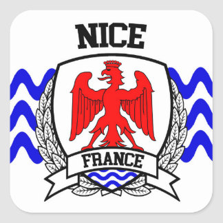 Nice Square Sticker