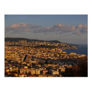 Nice sunset postcard