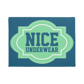 Nice Underwear Modern Cool Funny Doormat