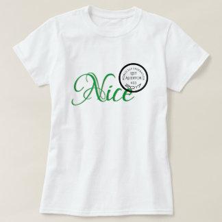 Nice Verified World Elf Federation Status T-Shirt