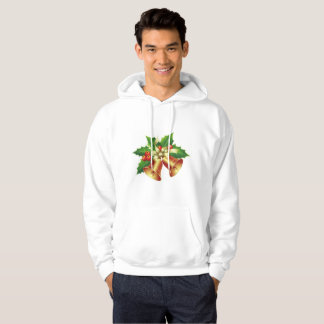 NICE WHITE HOODIE : JINGLE BELLS