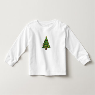 NICE WHITE LOONG SLEEVE T-SHIRT : CHRISTMAS