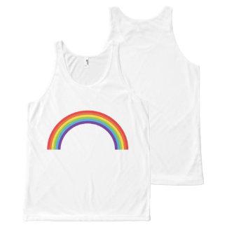 NICE WHITE TANK TOP : LGBT+