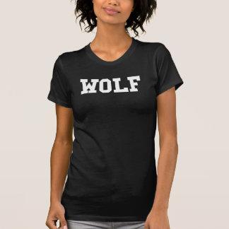 Nice Wolf Print T-Shirt
