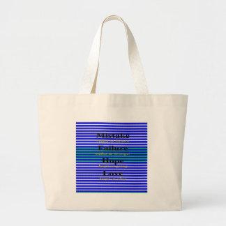 Nice Wording Images Large Tote Bag