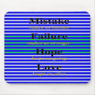 Nice Wording Images Mouse Pad