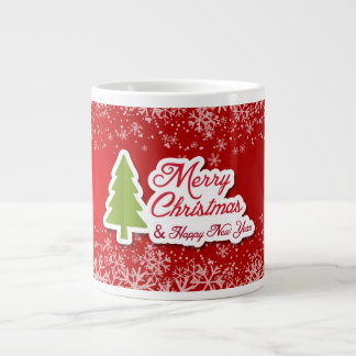 Nicely designed Holidays Jumbo Mug