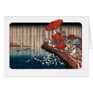 Nichiren Ichiyusai KUNIYOSHI (1797-1861) Cards