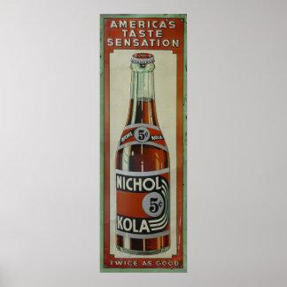 Nichol Kola Poster