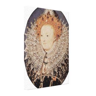 Nicholas Hilliard - Queen Elizabeth I of England Canvas Print