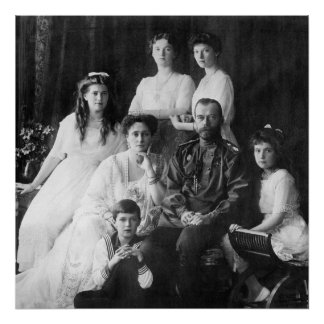 Nicholas II and Family Poster