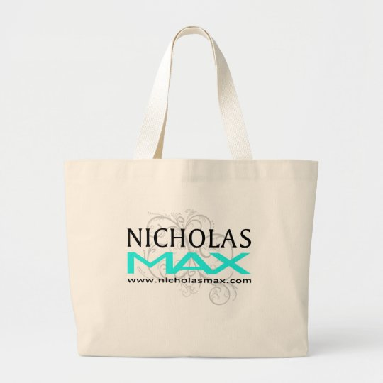 Nicholas Max Baby Blue Stamp Bag