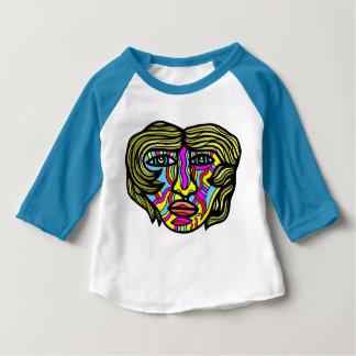 """Nicholes"" Baby 3/4 Sleeve Raglan T-Shirt"