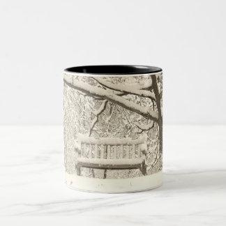 Nichols Arboretum Two-Tone Coffee Mug