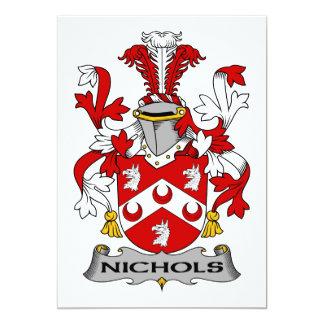 Nichols Family Crest Card