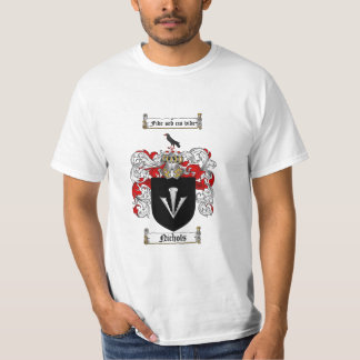 Nichols Family Crest - Nichols Coat of Arms T-Shirt
