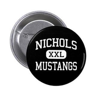 Nichols - Mustangs - Junior - Arlington Texas Pin