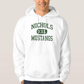Nichols - Mustangs - Junior - Arlington Texas Hoodie