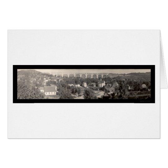 Nicholson Viaduct PA Photo 1915 Card
