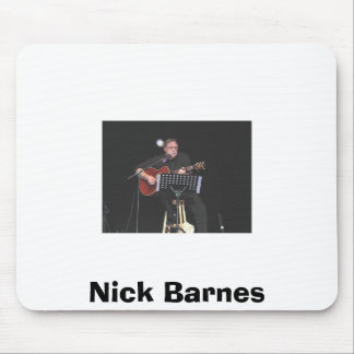 nick @ congress, Nick Barnes Mouse Pad