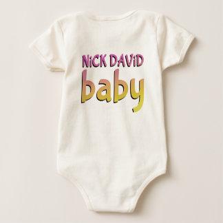 NiCK DAViD baby - Organic, Dual-Sided Snap Tee