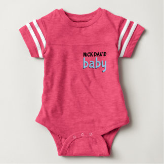 NiCK DAViD baby - Sporty Dual-Sided Snap Tee