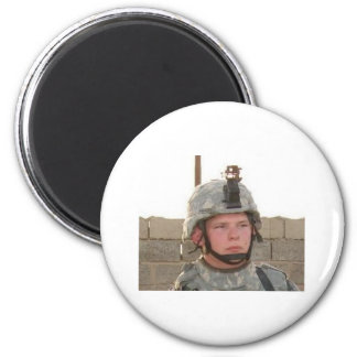 nick face pix 2 inch round magnet