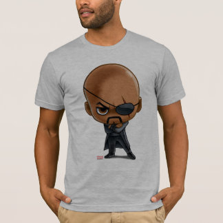 Nick Fury Stylized Art T-Shirt