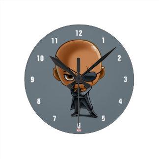 Nick Fury Stylized Art Wall Clocks