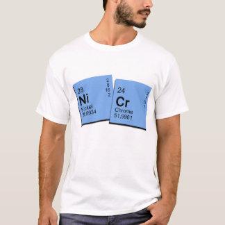 nickel chromium plates for white zone T-Shirt