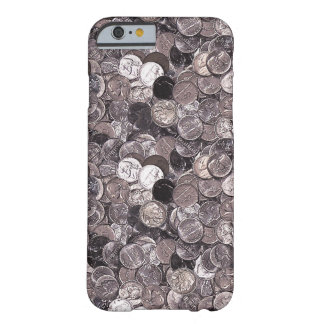 Nickel Coins Graphic Barely There iPhone 6 Case