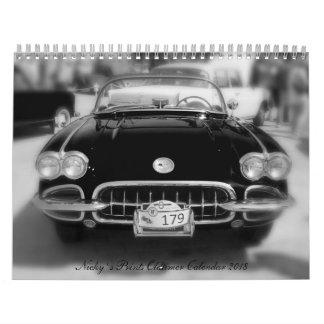 Nicky ` s old-timer Art calendar