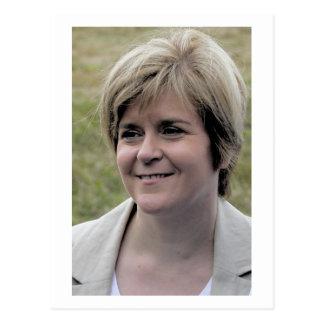 Nicola Sturgeon First Minister of Scotland Postcard