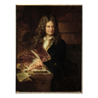 Nicolas Boileau  after 1704 Poster