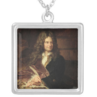 Nicolas Boileau  after 1704 Silver Plated Necklace