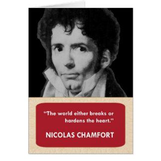 Nicolas Chamfort Anti-Valentine's Day Card