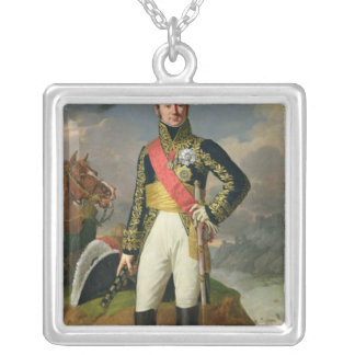 Nicolas-Charles Oudinot  Duke of Reggio Silver Plated Necklace
