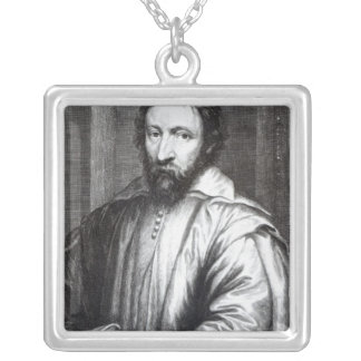 Nicolas Claude Fabri de Peiresc Silver Plated Necklace