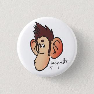 Nicolas jacquette suspicious misadventure 1 inch round button