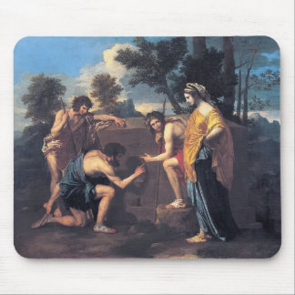 Nicolas Poussin- Et in Arcadia ego Mouse Pad