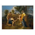 Nicolas Poussin - Et in Arcadia ego Postcard