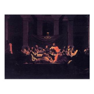 Nicolas Poussin- Eucharist Postcard