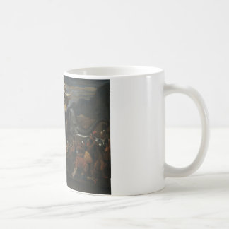 Nicolas Poussin - Hannibal crossing the Alps Coffee Mug