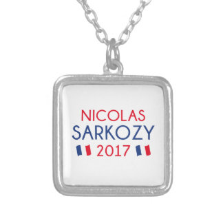 Nicolas Sarkozy 2017 Silver Plated Necklace