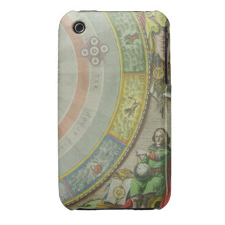 Nicolaus Copernicus (1473-1543), detail from a Map iPhone 3 Case-Mate Cases